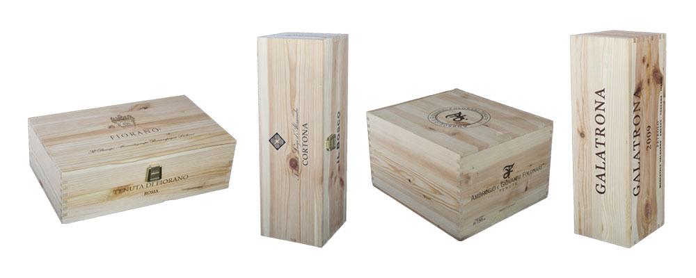 cassette in legno varie