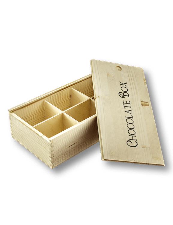 cassetta in legno porta oggetti