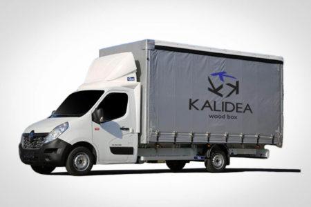 kalidea wine box trasporti